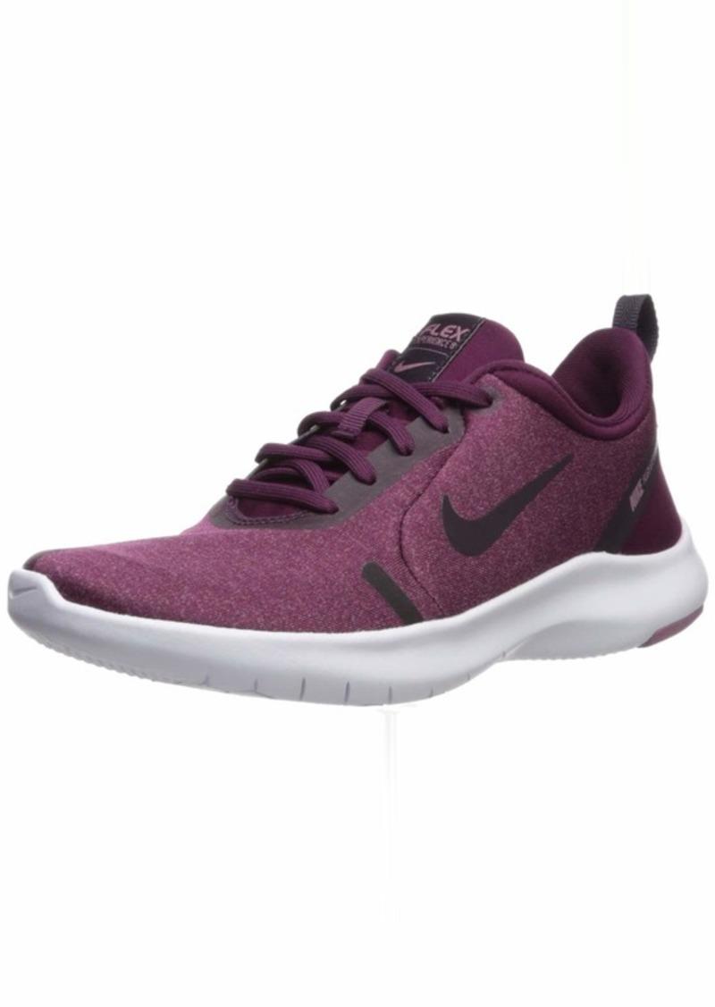 Nike Women's Flex Experience Run 8 Shoe Bordeaux/Burgundy Ash-Plum Dust-White  US