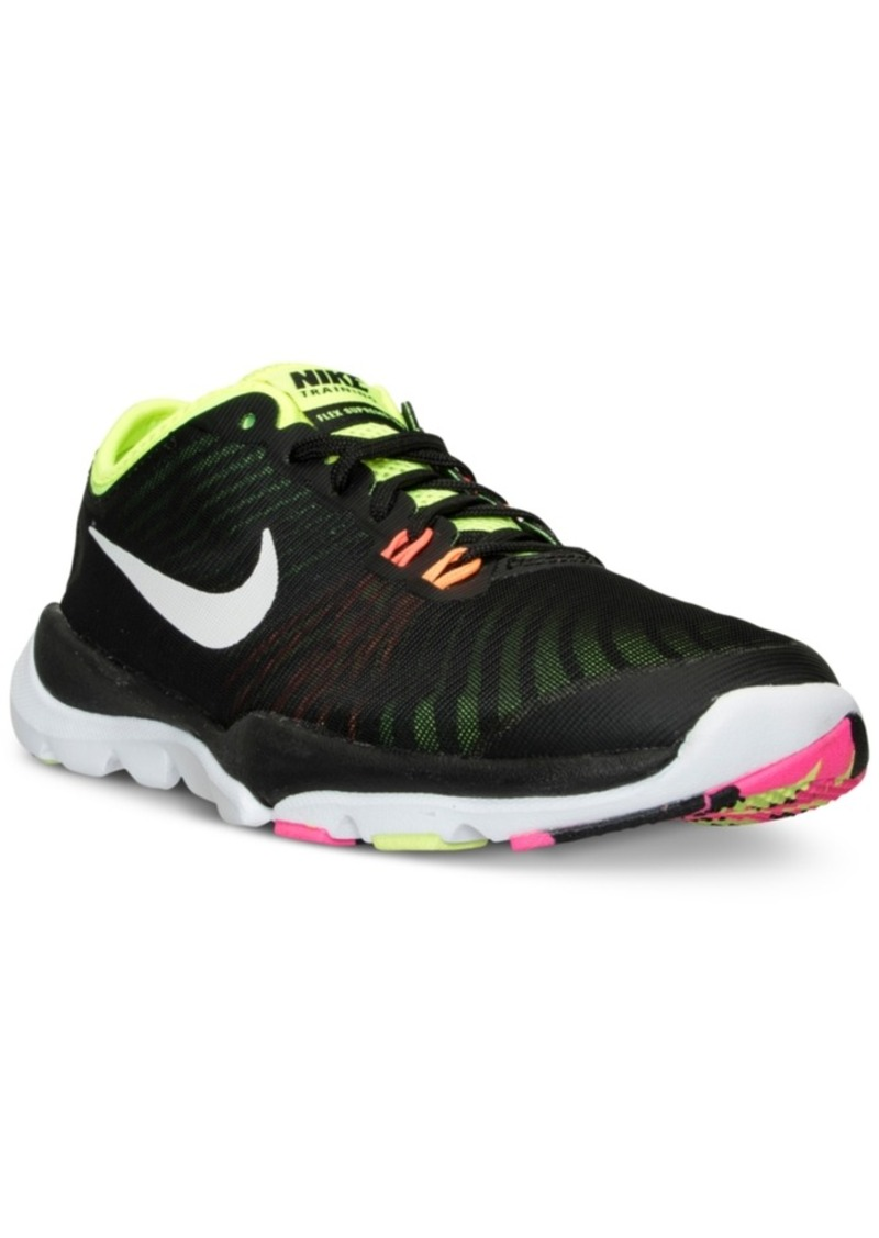 promo code 9145b 90c03 Nike Women s Flex Supreme Tr 4 Ultd Training Sneakers from Finish Line