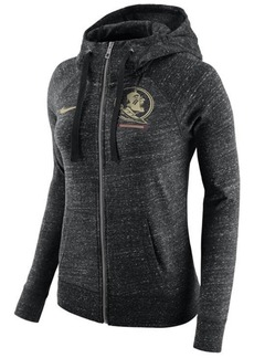 Nike Women's Florida State Seminoles Gym Vintage Full-Zip Hoodie