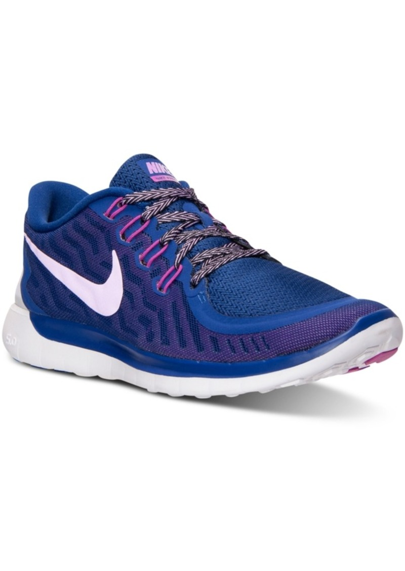 Nike Nike Women's Free 5.0 Running Sneakers from Finish ...