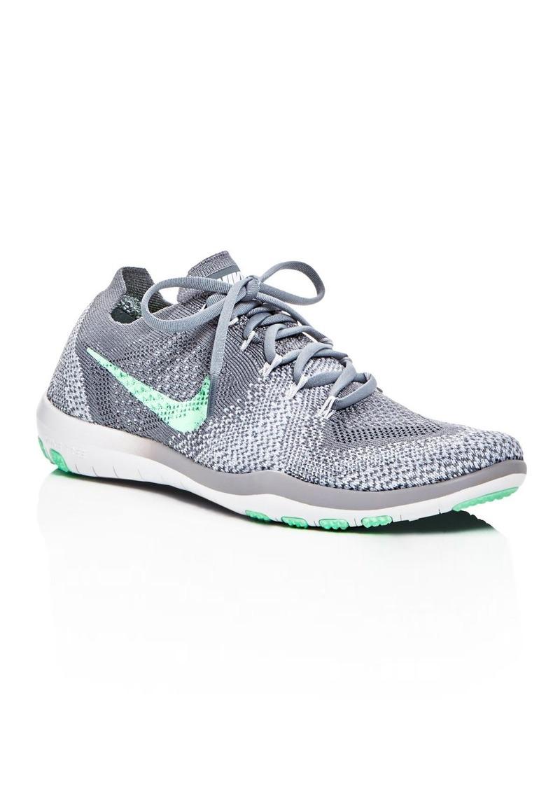 dd8e2315145f48 Nike Nike Women s Free Focus Flyknit 2 Lace Up Sneakers