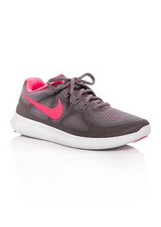 Nike Women's Free RN 2017 Lace Up Sneakers