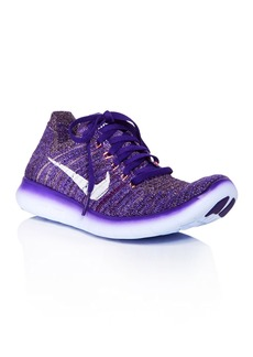 Nike Women's Free RN Flyknit Lace Up Sneakers