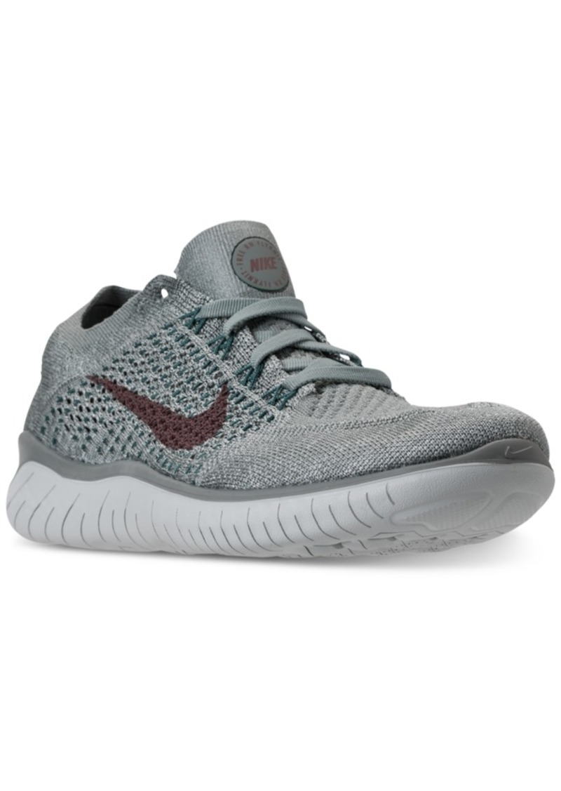 Nike Nike Women s Free Run Flyknit 2018 Running Sneakers from Finish ... 744cd9761