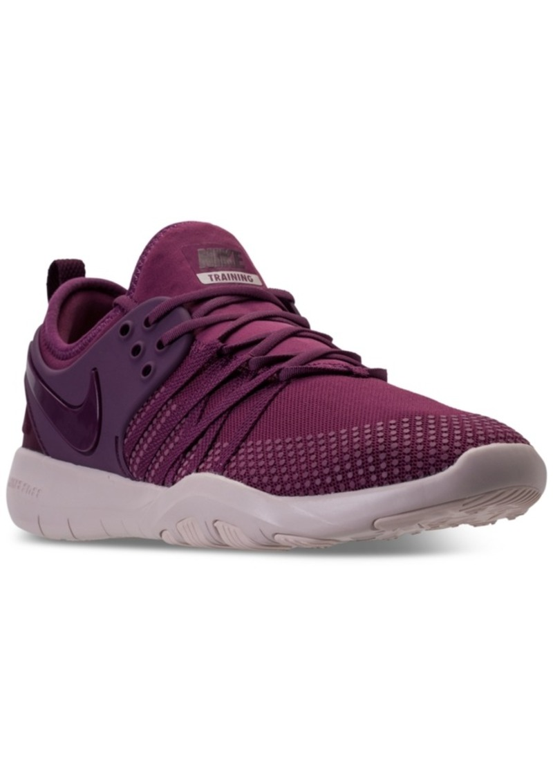 b80eebc6dc9d ... uk nike womens free tr 7 training sneakers from finish line 85eae efdf7