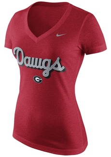 Nike Women's Georgia Bulldogs Script T-Shirt