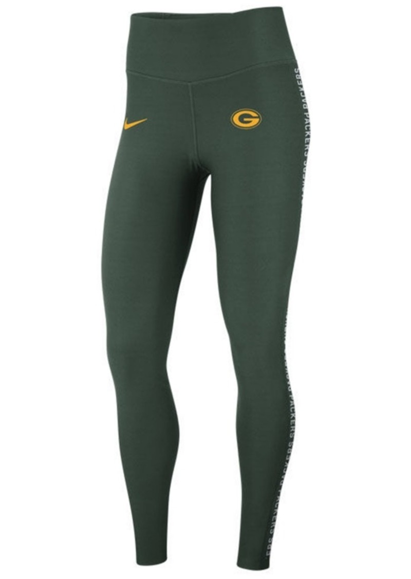 Nike Nike Women s Green Bay Packers Core Power Tight Leggings ... 36a8911739