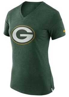 Nike Women's Green Bay Packers Fan V-Top T-Shirt