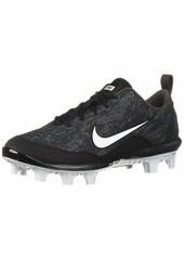 Nike Women's Hyperdiamond 2 Pro MCS Baseball Shoe Black/White-Thunder Grey  Regular US