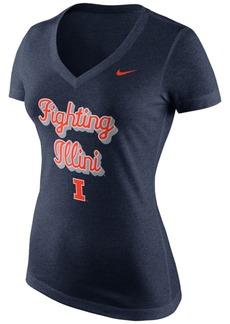 Nike Women's Illinois Fighting Illini Script T-Shirt