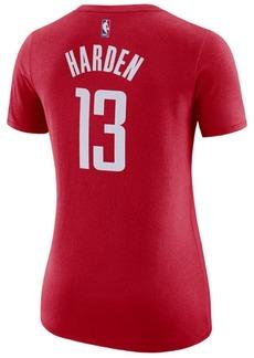 Nike Women's James Harden Houston Rockets Name & Number Player T-Shirt