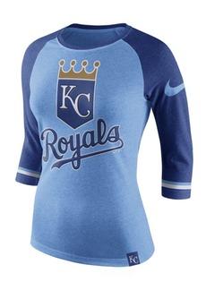 Nike Women's Kansas City Royals Tri Raglan T-Shirt