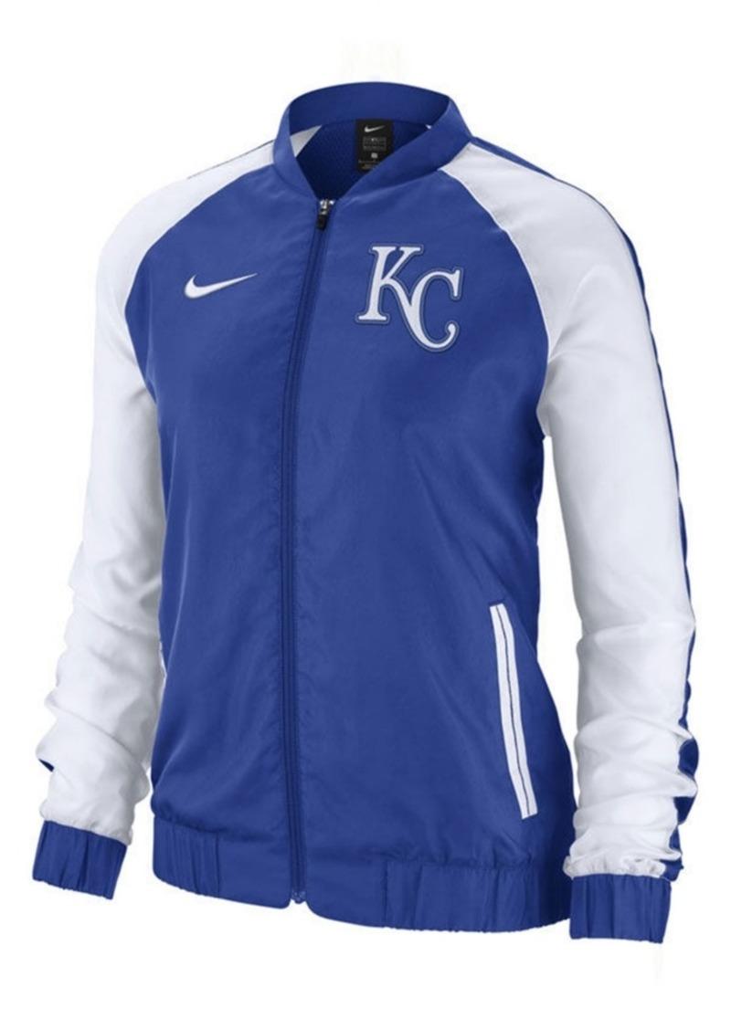 Nike Women's Kansas City Royals Varsity Track Jacket