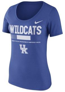 Nike Women's Kentucky Wildcats Sideline Scoop T-Shirt