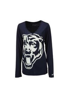 Nike Women's Long-Sleeve Chicago Bears Logo Wrap T-Shirt