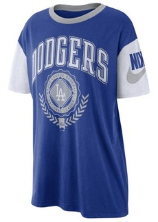 Nike Women's Los Angeles Dodgers Retro Boycut T-Shirt