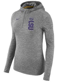 Nike Women's Lsu Tigers Dri-fit Element Hoodie