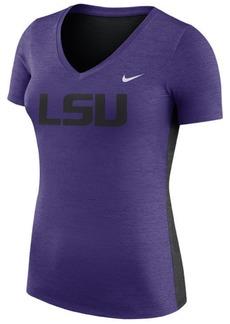 Nike Women's Lsu Tigers Dri-Fit Touch T-Shirt