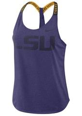 Nike Women's Lsu Tigers Elastika Tank