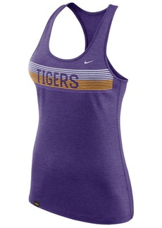Nike Women's Lsu Tigers Touch Tank