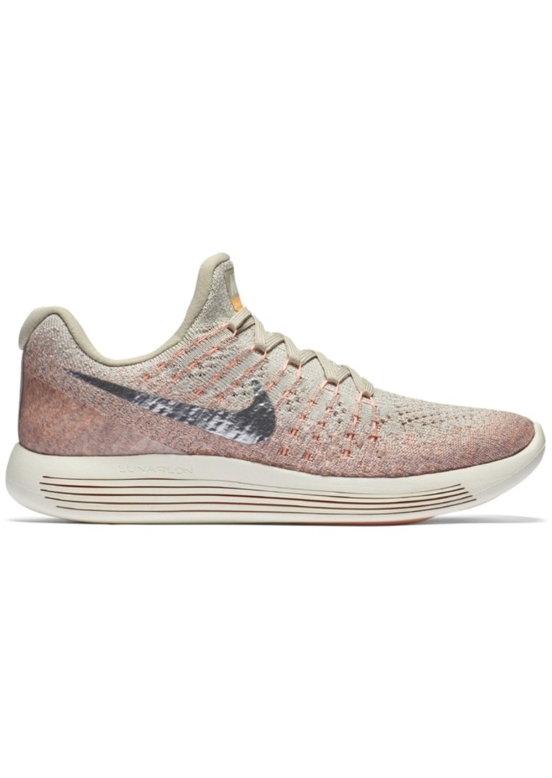 half off c7c8a d4c46 Women's LunarEpic Low Flyknit 2 Running Sneakers from Finish Line