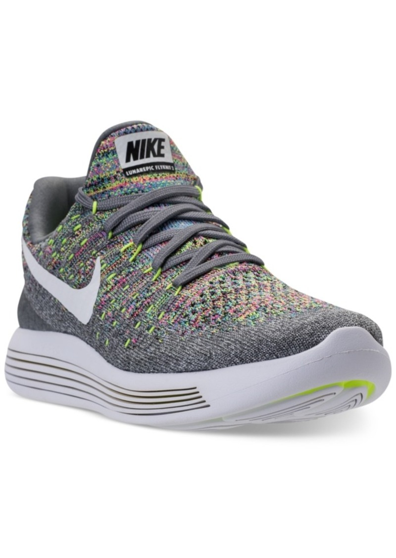 half off ed6b6 da37a Women's LunarEpic Low Flyknit 2 Running Sneakers from Finish Line
