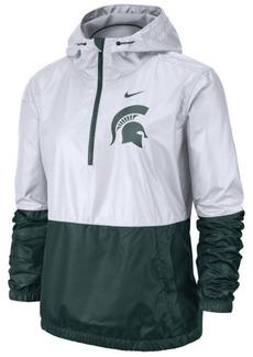 Nike Women's Michigan State Spartans Half-Zip Jacket