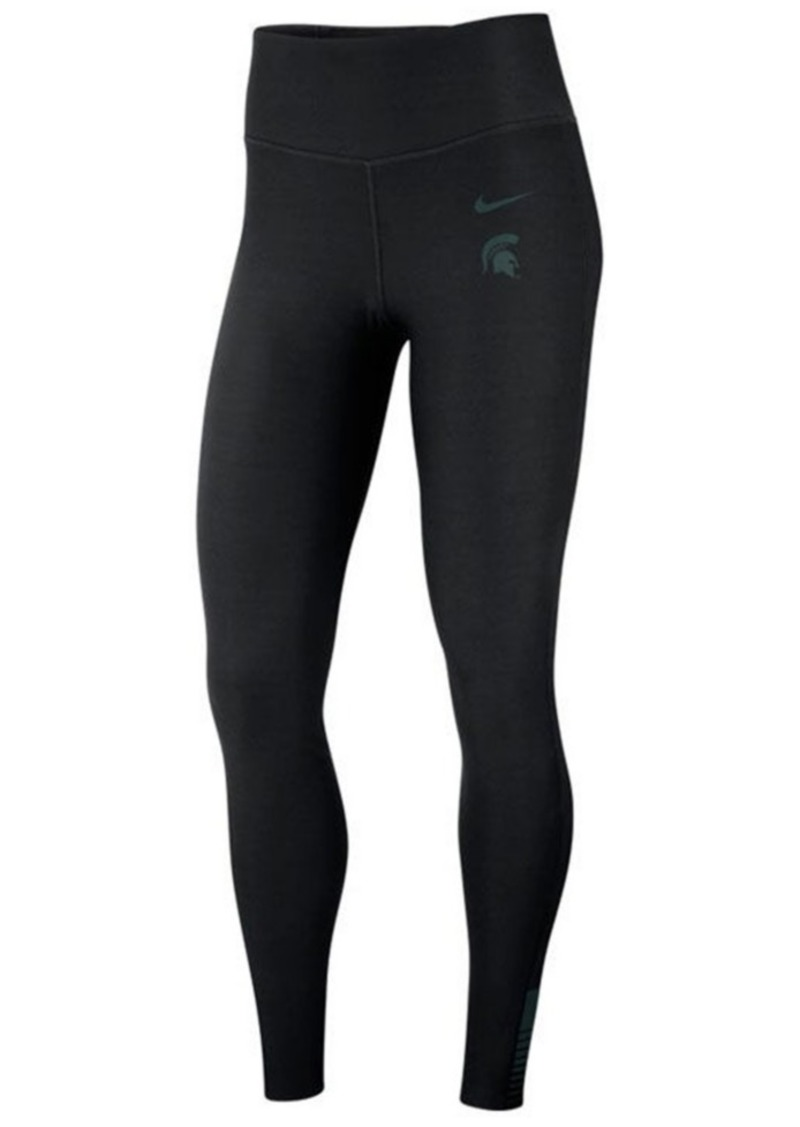 Nike Women's Michigan State Spartans Power Sculpt Leggings