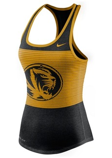 Nike Women's Missouri Tigers Dri-Blend Mesh Tank Top