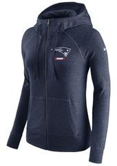 Nike Women's New England Patriots Gym Vintage Full-Zip Hoodie