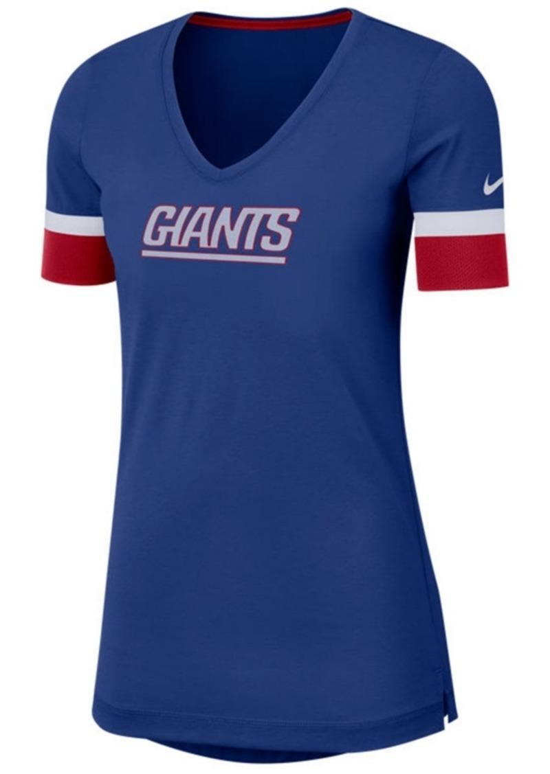Nike Women's New York Giants Dri-Fit Fan Top