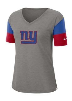 Nike Women's New York Giants Tri-Fan T-Shirt