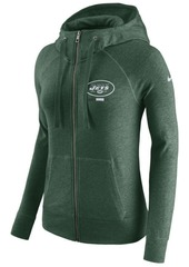 Nike Women's New York Jets Gym Vintage Full-Zip Hoodie