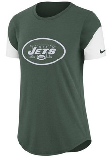 Nike Women's New York Jets Tri-Fan T-Shirt