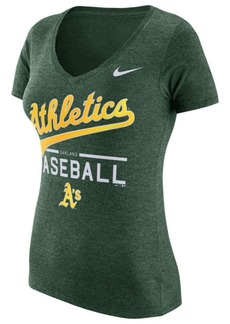 Nike Women's Oakland Athletics Practice T-Shirt