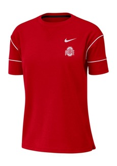 Nike Women's Ohio State Buckeyes Breathe Fashion T-Shirt