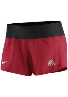Nike Women's Ohio State Buckeyes Gear Up Crew Shorts
