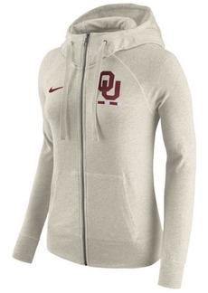 Nike Women's Oklahoma Sooners Gym Vintage Full-Zip Hoodie