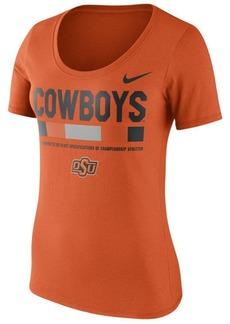 Nike Women's Oklahoma State Cowboys Sideline Scoop T-Shirt