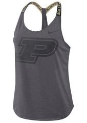 Nike Women's Purdue Boilermakers Elastika Tank