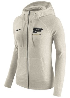 Nike Women's Purdue Boilermakers Gym Vintage Full-Zip Hoodie