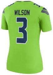 Nike Women's Russell Wilson Seattle Seahawks Color Rush Legend Jersey