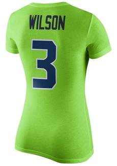 Nike Women's Russell Wilson Seattle Seahawks Color Rush Player Pride T-Shirt