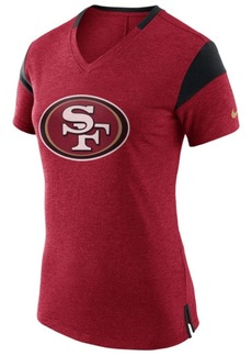 Nike Women's San Francisco 49ers Fan V-Top T-Shirt
