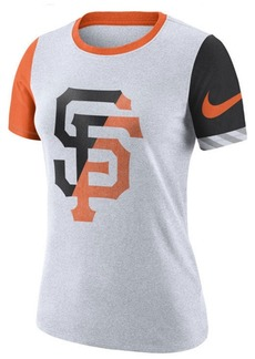 Nike Women's San Francisco Giants Slub Logo Crew T-Shirt