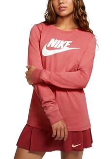 Nike Women's Sportswear Essential Cotton Logo Top