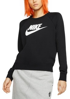 Nike Women's Sportswear Essential Logo Fleece Sweatshirt