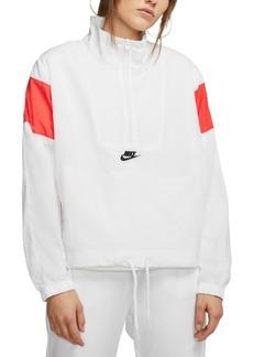 Nike Women's Sportswear Heritage Quarter-Zip Windbreaker