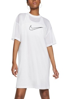 Nike Women's Sportswear Mesh-Panel Dress