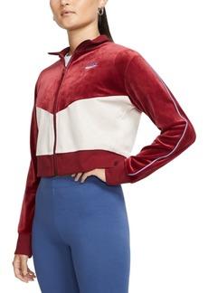 Nike Women's Sportswear Velour Colorblocked Jacket